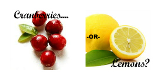 Cranberries or Lemons