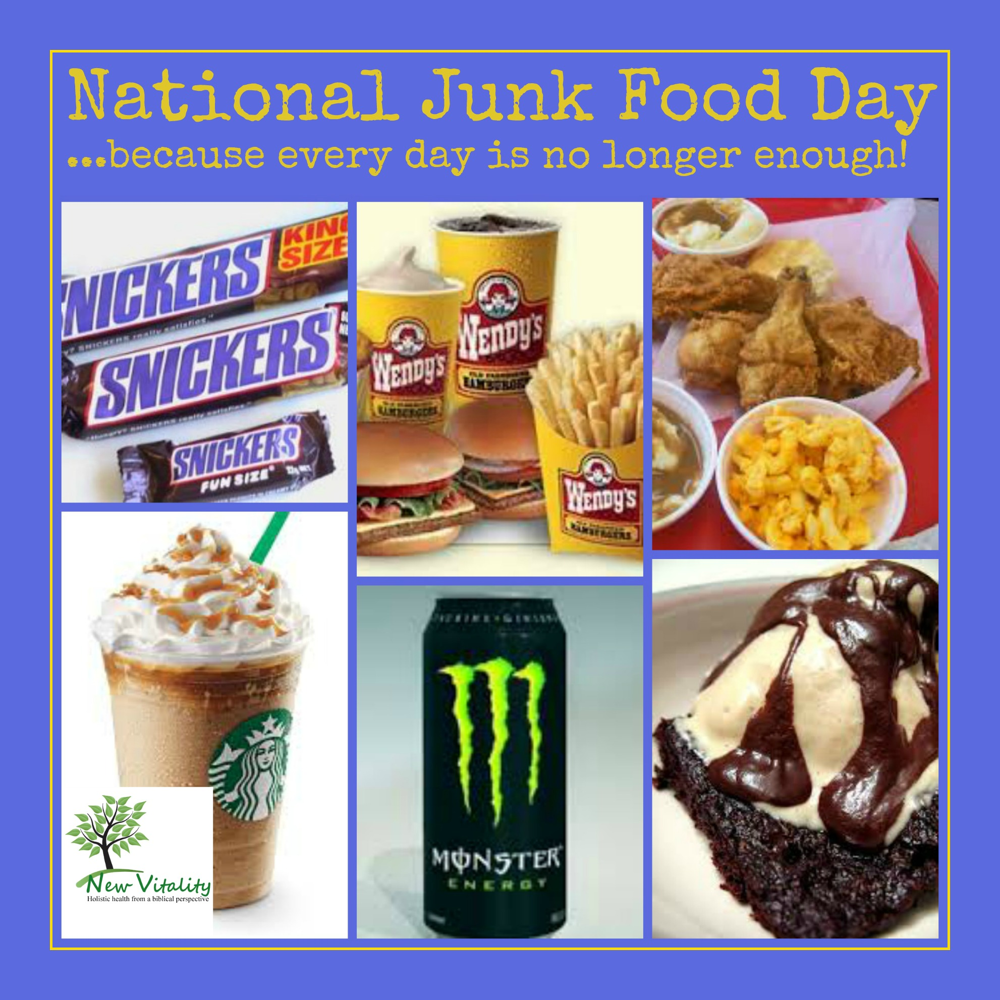 national junk food day