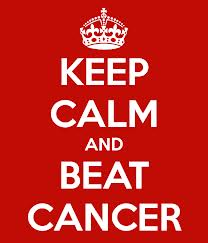keep calm cancer